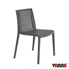 Vanna Zoom Side Chair - Anthracite